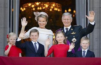 ملك بلجيكا وأسرته يغادرون الأقصر بعد زيارة المعالم الأثرية
