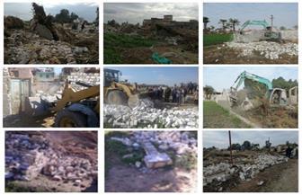 الداخلية تواصل تأمين تنفيذ إزالة التعديات علي أملاك الدولة ونهر النيل