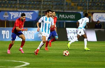 عبد الله السعيد يقود بيراميدز للفوز على الأهلي في الدوري
