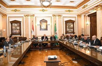 """""""العليا لتطوير المستشفيات"""" بجامعة القاهرة تبحث مراحل تطوير"""" قصر العيني 2020"""""""
