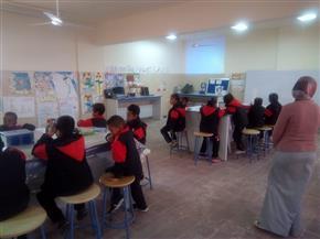 جامعة أسوان تشارك في تقييم الحصص البحثية بالمدرسة المصرية اليابانية  صور