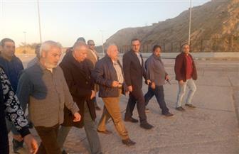 رئيس هيئة مواني البحر الأحمر يتفقد ميناء شرم الشيخ البحري