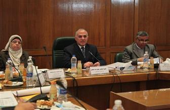 وزير الري يترأس اجتماع القابضة للري والصرف ويوجه بزيادة الإنتاج والأرباح | صور