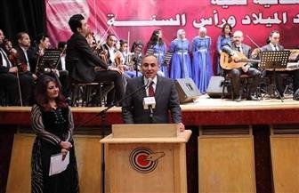 """عبد المحسن سلامة: احتفالية """"الصحفيين"""" بأعياد الميلاد تجسيد للوحدة الوطنية.. وهذه هي مصر الجميلة"""
