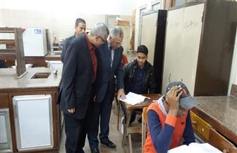 نائب رئيس جامعة الأزهر: تشديد الرقابة على اللجان ليحصل كل طالب على حقه | صور
