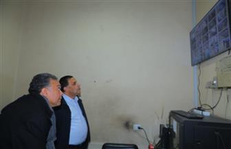 وزير النقل يتابع منظومة المراقبة بالكاميرات لمحطة الجيزة للسكك الحديدية.. بتكلفة 13.3 مليون جنيه   صور