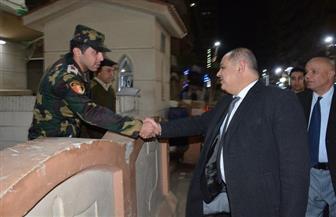 محافظ الغربية ومدير الأمن يتفقدان تأمين الكنائس فى عيد الميلاد المجيد | صور