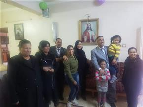 تضامن المنيا تحتفل مع أبناء دور الرعاية بعيد الميلاد المجيد