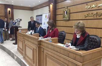 وزيرة التضامن توقع بروتوكولا لتطوير الحضانات بمحافظة القاهرة  | صور