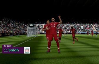 تحليل لأداء محمد صلاح في لعبة فيفا 2019 الجديدة | فيديو