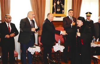 محافظ القاهرة يشارك الأرمن الأرثوذكس احتفالات عيد الميلاد المجيد   صور