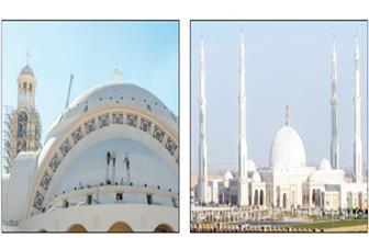 وكيل البطريركية: افتتاح المسجد والكاتدرائية بالعاصمة الإدارية في هذا التوقيت إعجاز