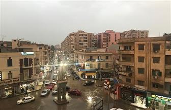 الأمطار تغرق شوارع كفرالشيخ وتقطع الكهرباء وتوقف عمليات الصيد| صور