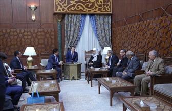 وفد جامعة الفارابي بكازاخستان يشيد بدور الأزهر في الحفاظ على إرث االحضارة الإسلامية | صور