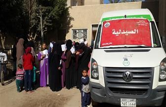 صحة جنوب سيناء: قافلة مجانية بوادي الطرفة في سانت كاترين