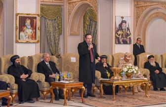 الكنيسة المرقسية بالإسكندرية تنظم حفل استقبال احتفالا بأعياد الميلاد| صور