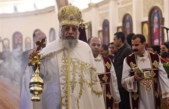 البابا تواضروس يترأس قداس عيد الميلاد  بكاتدرائية العاصمة الجديدة