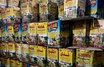 ضبط كمية كبيرة من الأغذية غير الصالحة بحملة في مدينة طلخا