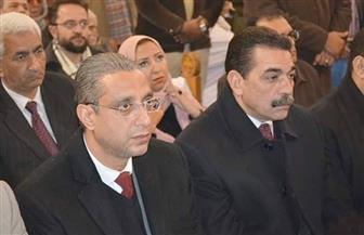 محافظ سوهاج ومدير الأمن يشهدان قداس عيد القيامة