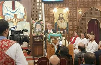 سفير مصر بلبنان: الكنيسة القبطية المصرية تجسد رسالة المسيح في إعلاء قيم الإنسانية والسلام |صور