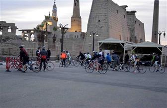 الأقصر تستقبل 40 دراجا ضمن رحلة للمبادرة العالمية لركوب الدراجات |صور