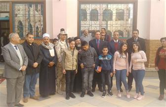 """محافظ سوهاج ومدير الأمن يزوران جمعية """"بيت الرحمة"""" لتهنئة الأيتام   صور"""