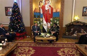 وزير الداخلية يهنئ البابا تواضروس بعيد الميلاد المجيد.. ويشيد بدور الكنيسة في تعزيز الوحدة الوطنية | صور