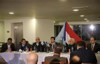 وزير الرياضة يشهد تدريب منتخب مصر لكرة اليد قبل السفر لمونديال ألمانيا والدنمارك |صور