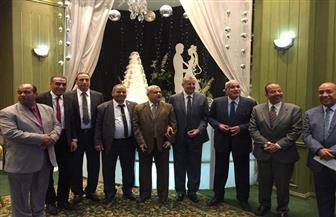 """تكريم الزميل يوسف جابر في احتفالية """"بوتاجاسكو"""".. وسيد علي الموظف المثالي بمصنع سوهاج"""