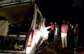 مصرع 5 وإصابة 2 آخرين في حادث تصادم أعلى دائري الوراق
