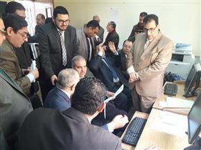 افتتاح مركز معلومات الرسائل العلمية بكلية الدراسات العليا بجامعة الأزهر | صور