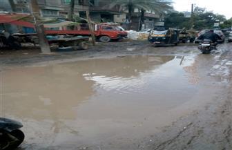 كفرالشيخ تتعرض لأمطار غزيرة وانقطاع الكهرباء وتوقف عمليات الصيد   صور