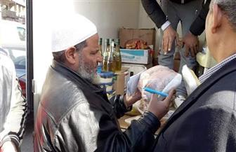 تحرير 24 محضرا في حملة تفتيشية على محلات وعربات بيع اللحوم في قويسنا| صور