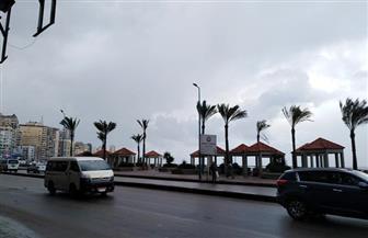 لليوم الرابع.. الطقس السيئ يضرب الإسكندرية |صور