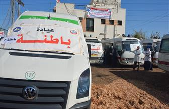 توزيع 200 بطانية في قافلة طبية لمستقبل وطن بقرية السيالة بدمياط| صور