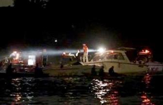 استمرار عمليات البحث عن المركب المفقودة ببحيرة البردويل لليوم الرابع