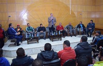 عزيز يشهد ختام الدورة التثقيفية لمدربي كرة القدم بمنطقة سوهاج | صور