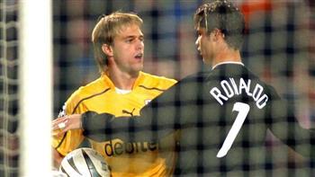 كريستيانو رونالدو يحتفل بـ 16 عاما من الظهور في دوري الأبطال
