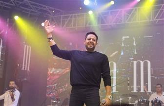 حماقي يحيي حفلا غنائيا بإحدى جامعات الإسكندرية|صور