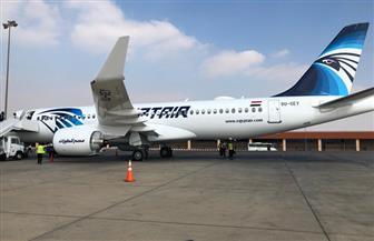 مصر للطيران تسير اليوم 38 رحلة جوية لنقل 4000 راكب.. و43 رحلة أخرى غدا الجمعة