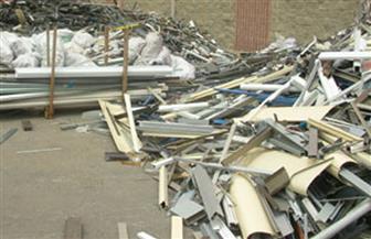 """ضبط 2 طن """"مخلفات ألمونيوم"""" داخل مصنع للأدوات المنزلية غير مطابقة للمواصفات بالإسكندرية"""