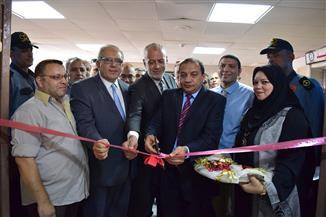 افتتاح جناح عمليات الطوارئ الجديد بمستشفى بني سويف الجامعي| صور