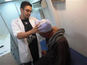 """الكشف الطبي على 3441 بالمجان بأسوان  ضمن حملة """"حياة كريمة"""""""