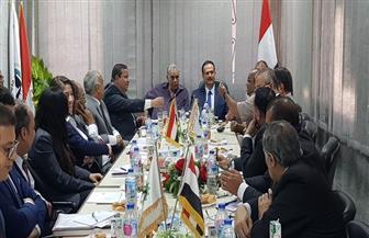 تشكيل لجنة من البنك الأهلي المصري ومستثمري أكتوبر لحل مشاكل المستثمرين | صور