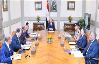 الرئيس السيسي: سنواصل مواجهة الإرهاب ومن يموله ويدعمه ويقف وراءه بكل قوة وحسم