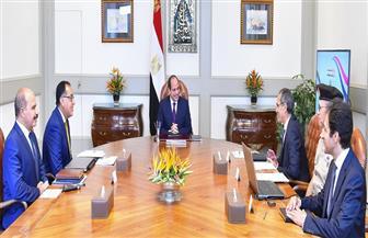 تفاصيل اجتماع الرئيس السيسي مع رئيس الوزراء ووزير الاتصالات