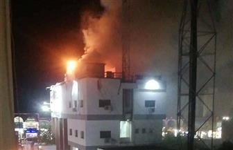حريق في السنترال السياحي بالغردقة.. وجار تحديد الخسائر المادية | صور