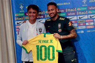 100 مباراة لنيمار بقميص البرازيل.. ورقم رونالدو هدفه القادم