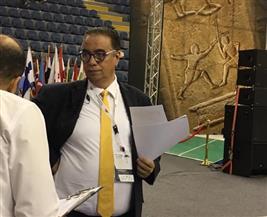 زياد فرياني لـ«بوابة الأهرام»: مصر لديها كل الإمكانات لتنظيم بطولات عالمية في السلاح