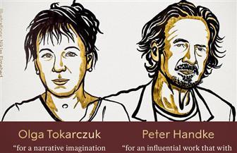البولندية أولجا توكاركوك والنمساوي بيتر هاندكه يفوزان بجائزة نوبل للآداب